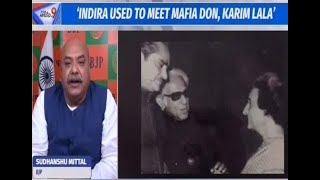 Cong must either say she did not or accept that she met Karim Lala and  must tender a public apology