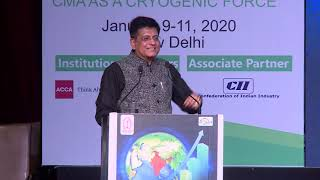 Valedictory Session, Piyush Goyal, Hon'ble Union Minister of Railways and Commerce & Industry
