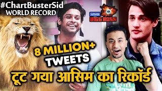 Bigg Boss 13 | Siddharth Shukla WORLD RECORD | 8 Million+ Tweets | History Created | BB 13 Video