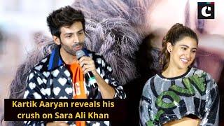 Kartik Aaryan reveals his crush on Sara Ali Khan