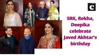 SRK, Rekha, Deepika celebrate Javed Akhtar's birthday