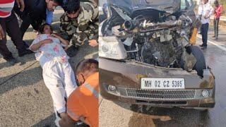 ACCIDENT NEWS / ट्रक से भिड़ी actress Shabana Azmi की कार, गंभीर रूप से घायल, अस्पताल में...
