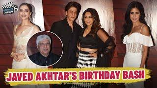 Shah Rukh Khan, Deepika Padukone & Katrina Kaif grace Javed Akhtar's Birthday Bash