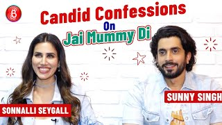 Sunny Singh & Sonnalli Seygall's Candid Confessions On Their Latest Release Jai Mummy Di