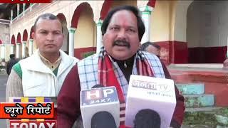18 JAN N 11 END  पुलिस अधीक्षक मंडी से  मंदिर प्रबंधन द्वारा रुकने की बयान को लेकरकी गई कार्रवाई