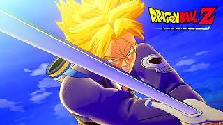 Super Saiyan Trunks kills Mecha Frieza - Dragon Ball Z Kakarot