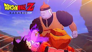 Android 19 kills Super Saiyan Goku in Dragon Ball Z Kakarot