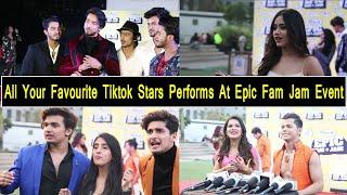 Social Media Stars Avneet Kaur, Siddharth Nigam, Mr Faisu, Teen Tigada Performs At Epic FamJam Event