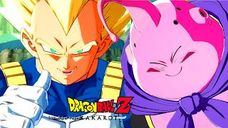 Super Saiyan Vegeta vs Majin Buu Boss Final Fight - Dragon Ball Z Kakarot
