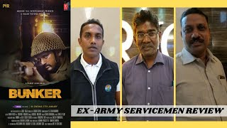 Bunker Movie - Public Review By Ex Army Man