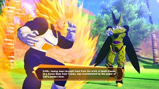 Super Saiyan Vegeta vs Cell Boss Fight Full - Dragon Ball Z Kakarot