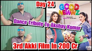 Bollywood Crazies Surya Dance Tribute To Akshay Kumar After Good Newwz Crosses 200 Cr Till Day 24