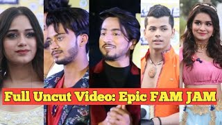 UNCUT Video: Mr, Faizu, Jannat Zubair, Avneet, Siddharth, Team 07 - 1st EPIC FAM JAM