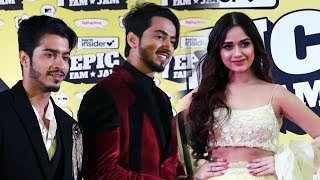 Mr. Faisu, Team 07 And Jannat Zubair At  First Edition Of EPIC FAM JAM Fan Festival For TikTok Stars