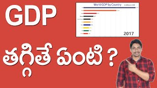What is Gdp telugu | GDP తగ్గితే ఏంటి ?