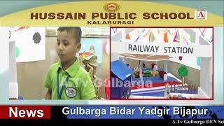 Hussain Public School Gulbarga Mein Talent Expo Ka ineqaad
