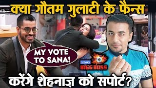 Bigg Boss 13 | Will Gautam Gulati FANS Support Shehnaz Gill? | BB 13 Latest Video