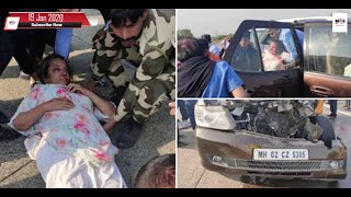 Actress Shabana Azmi seriously injured in accident, शबाना आजमी सड़क हादसे में घायल | 18 Jan 2020