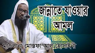 জান্নাতে যাওয়ার আমল কি ? Mostofa Al Hossaini Bangla Waz Mahfil | Bangla ISlamic Lecture