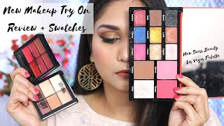 What's New in Affordable ? | Trying out new Affordable Makeup | Swiss beauty Las Vegas Palette