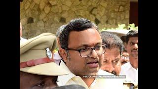 INX Media PMLA case: ED 'grills' Karti chidambaram again