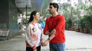 Divyanka Tripathi With Husband Vivek Dahiya Spotted At PVR JUHU