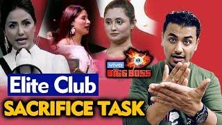 Bigg Boss 13 | Rashmi, Arti, Mahira | Sacrifice Task | Elite Club Member | BB 13 Video