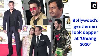 Bollywood's gentlemen look dapper at 'Umang 2020'