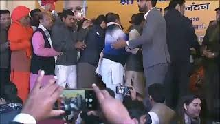 Felicitation of newly-elected BJP National President Shri JP Nadda at BJP HQ.