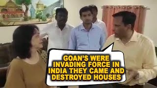 Railway Officials Call Goans Portuguese Who Invaded & Destroyed Ancient Houses! Creates Controversy