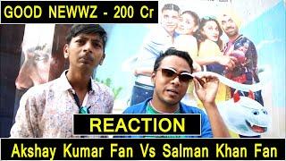 Good Newwz Crosses 200 Crores, Reaction By Akshay Kumar Fan And Salman Khan Fan