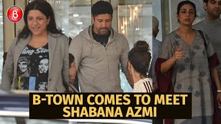 Celebs Visit Kokilaben Hospital To Check Up On Shabana Azmi After Her Massive Car Crash
