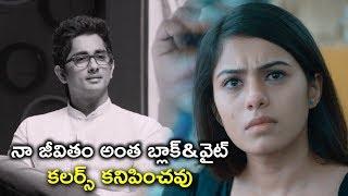 నా జీవితం అంతా బ్లాక్&వైట్| Siddharth Latest Movie Scenes | Naalo Okkadu