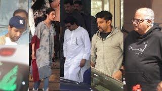 Vicky Kaushal, Tabu, Raj Thackeray, Farhan Akhtar & Boney Kapoor Visited Shabana Azmi Ji