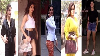 Many Bollywood Celebrities Spotted Today | Raveena Tandon, Neelam, Janhvi Kapoor, Ananya, Kiara