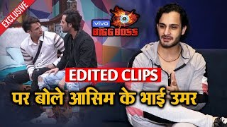 Exclusive: Asim's Brother Umar Riaz Reveals His EDITED CLIP Of Family Week   Bigg Boss 13 Interview
