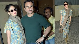 Tanhaji | Kareena Kapoor Looks Stunning At Movie Date With Saif Ali Khan, PVR JUHU