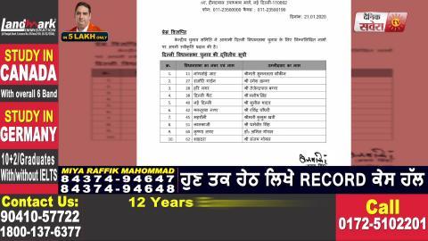 Delhi में Nomination File करने के आखिरी दिन BJP और Congress ने सभी उम्मीदवारों का किया ऐलान