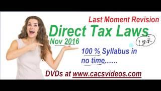 1 Direct tax Last Revision 1 Capital Gain by Abhinav Jha