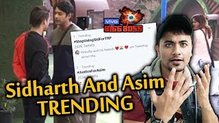 Bigg Boss 13 | Sidharth Shukla And Asim Riaz TRENDING On Twitter | BB 13 Video