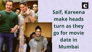 Saif, Kareena make heads turn as they go for movie date in Mumbai