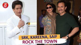 Shah Rukh Khan, Kareena Kapoor, Saif Ali Khan Rock The Town Looking Happy As Always