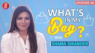 Shama Sikander: Would Love To INVADE Jennifer Lopez's Bag | What's In My Bag?