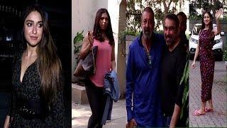 Sara Ali Khan, Sanjay Dutt, Bhumi Pednekar, Ileana Dcruz Spotted | News Remind