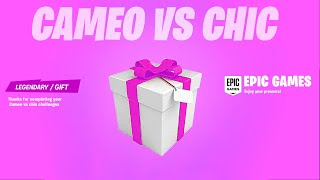 FORTNITE NEW CAMEO VS. CHIC CHALLENGES & REWARDS