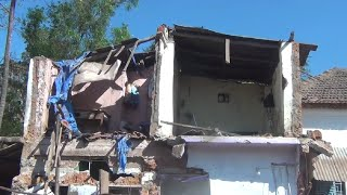 Houses, Shops Demolished For Highway Expansion At Thivim, No Compensation Paid To Owners