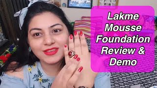 Lakme 9 to 5 Weightless Foundation Review & Demo | JSuper Kaur