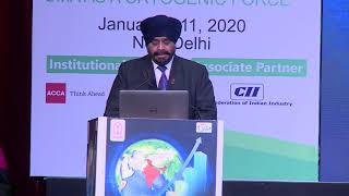 Inaugural Session,  CMA Balwinder Singh , President, ICAI