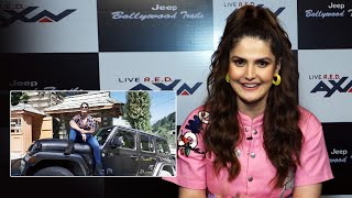Zareen Khan Talks About Her Debut Show AXN Jeep Bollywood Trails