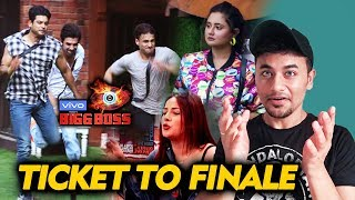Bigg Boss 13 | Ticket To Finale Task Coming Soon | Who Deserves To get The TICKET? | BB 13 Video
